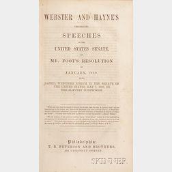 (Webster, Daniel (1782-1852), Two Titles)