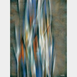 Leonardo M. Nierman  (American, b. 1932)      Column of Light