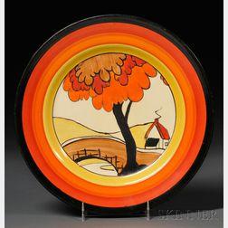 Clarice Cliff Bizarre Ware Plate