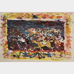 Constantin Terechkovitch (Russian, 1902-1978)      Course