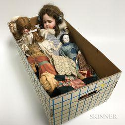 Eight Dolls
