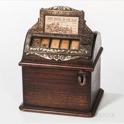 Nickel Poker Gambling Machine