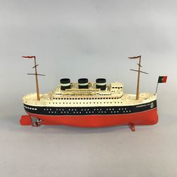 Arnold Tin Wind-up Boat