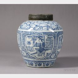 Large Porcelain Jar