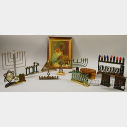 Twelve Judaica Items