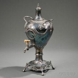 George III Sterling Silver Tea Urn