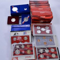 Assortment of Silver Proof and Proof Sets