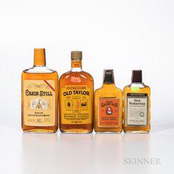 Mixed Bourbon, 1 pint bottle 1 500ml bottle 2 200ml bottles