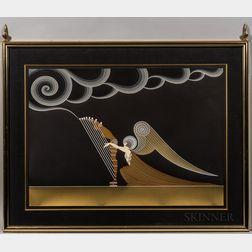 Romain De Tirtoff, called Erté (Russian, 1892-1990)      Angel