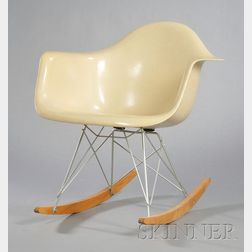 Charles and Ray Eames Rocker with Eiffel Tower Base