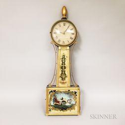 "Gilt-frame Patent Timepiece or ""Banjo"" Clock"