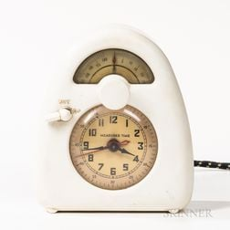 Isamu Noguchi (American, 1904-1988) for Measured Time Clock and Kitchen Timer