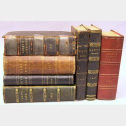 Seven Godeys Books.