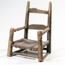 Early 18th Century Child's Chair
