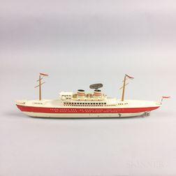 Arnold Tin Wind-up Ocean Liner