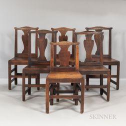 Six Elm Side Chairs
