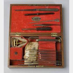 Part Surgeon's Set by Tiemann & Co.