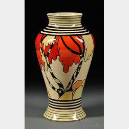 Modern Clarice Cliff Limited Edition Vase