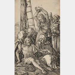 Albrecht Dürer (German, 1471-1528)      The Lamentation