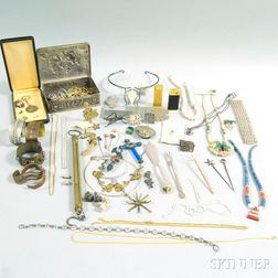 Large Group of Miscellaneous Jewelry and Accessories
