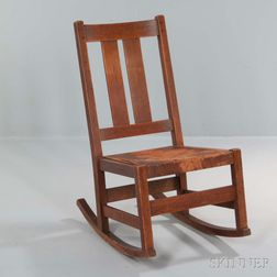 L. & J.G. Stickley Rocking Chair
