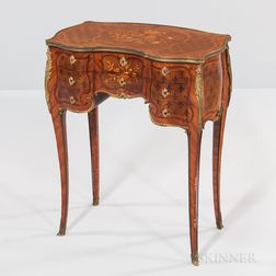 Paul Sormani Kingwood- and Mahogany-veneered Ormolu-mounted Dressing Table