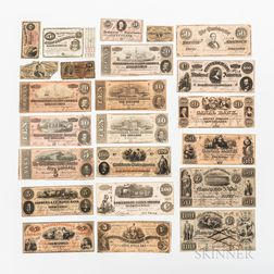 Small Group of Confederate and Obsolete Paper Money