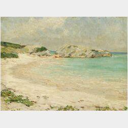 Clark Greenwood Voorhees (American, 1871-1933)  Quiet Cove with Dunes