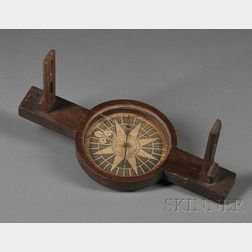 Walnut Surveyor's Compass by John Dupee