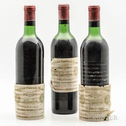Chateau Cheval Blanc 1966, 3 bottles