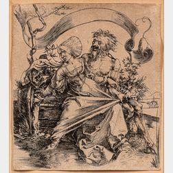 Albrecht Dürer (German, 1471-1528)      The Ravisher