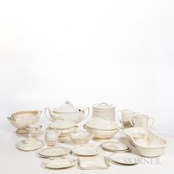 Group of Creamware and Other Items