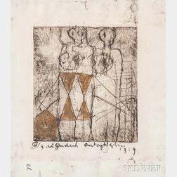 Anton Heyboer (Dutch, 1924-2005)      Untitled