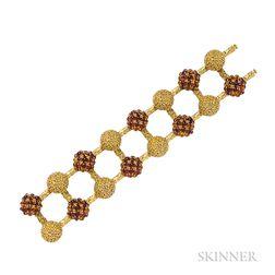 18kt Gold and Citrine Bracelet, Pomellato