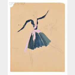 Eve Swinstead-Smith (British, 20th Century)      Costume Designs for Enigma Variations