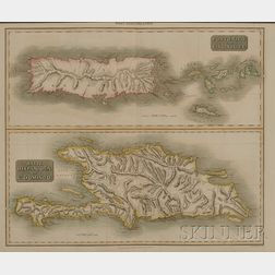 Scottish Engraved Map of the West-Indies