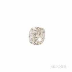 Unmounted Old Mine-cut Diamond