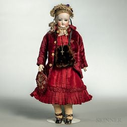 French Bisque-head Fashion Doll