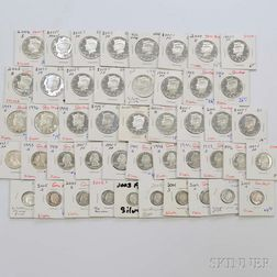 Group of Modern Silver Proofs