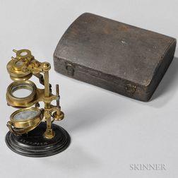 W. & S. Jones Improved Botanical or Universal Pocket Microscope