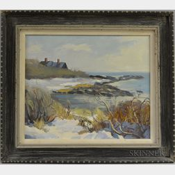 Bob Nally (American, 1938-1990)      Brace's Cove, Cape Ann, Mass.