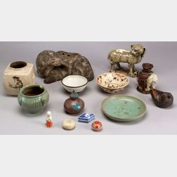 Fourteen Ceramic Items