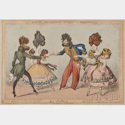 Ten Theatrical Caricatures.