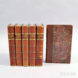 Six Volumes of Captain Cook's Voyages