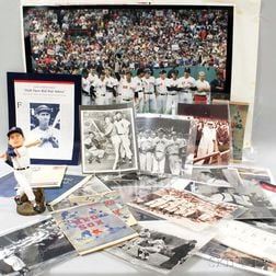 Group of Mostly Baseball Ephemera