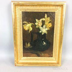 American/European School, 20th Century      Daffodils