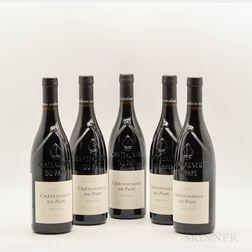 Roger Sabon Chateauneuf du Pape Prestige 2010, 5 bottles