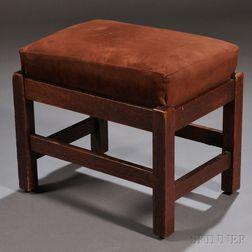 Arts & Crafts L. & J.G. Stickley Footstool