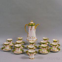 Dresden Porcelain Coffee Service