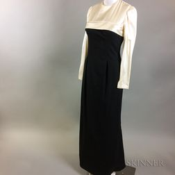 Vintage Silk and Wool Dress and Satin Shirt
